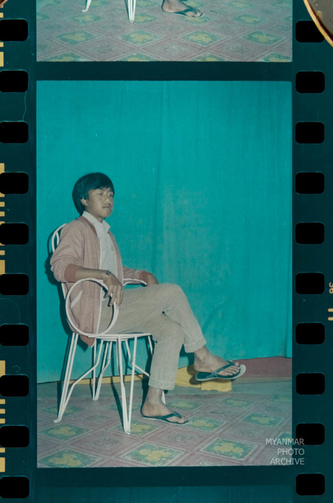 1980s, 1988, U Aung San, life, portraits, shan state, studio, taunggyi, တောင်ကြီး, ရှမ်းပြည်နယ်